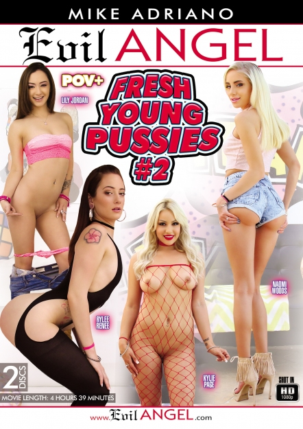 Fresh Young Pussies #02 DVD