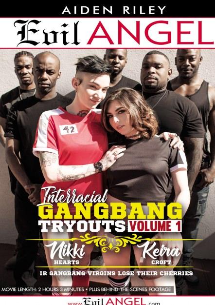 Interracial Gangbang Tryouts Volume 1