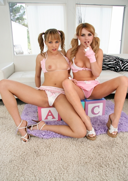 Lexi Belle And Blue Angel - Behind The Scene