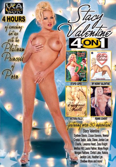 4 on 1: Stacey Valentine DVD