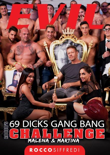 Rocco's 69 Dicks Gang Bang Challenge: Malena VS Martina