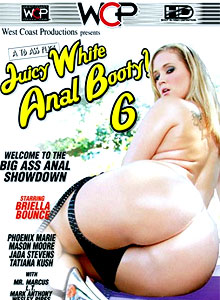 Juicy White Anal Booty 6