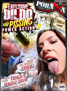 Explosive Dildo And Pissing Power Action 4
