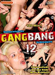 Vollgewichste Gang Bang Schlampen