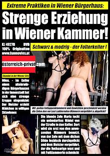 Strenge Erziehung in der Wiener Kammer!