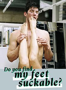 Do You Find My Feet Suckable?