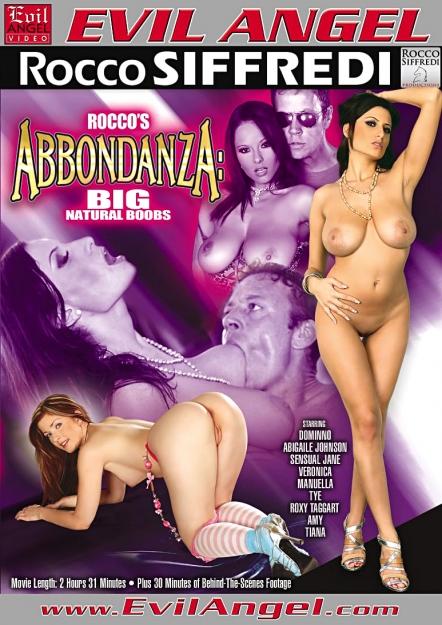 Rocco's Abbondanza:Big, Natural Boobs DVD