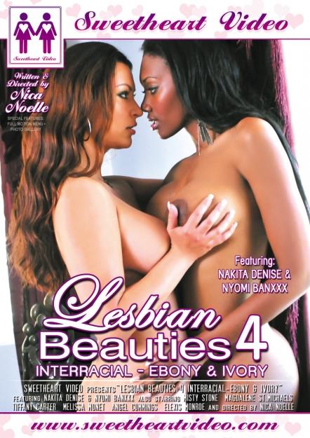 Lesbian Beauties #04 - Interracial Ebony And Ivory
