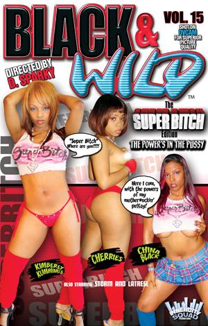 Black and Wild #15 DVD