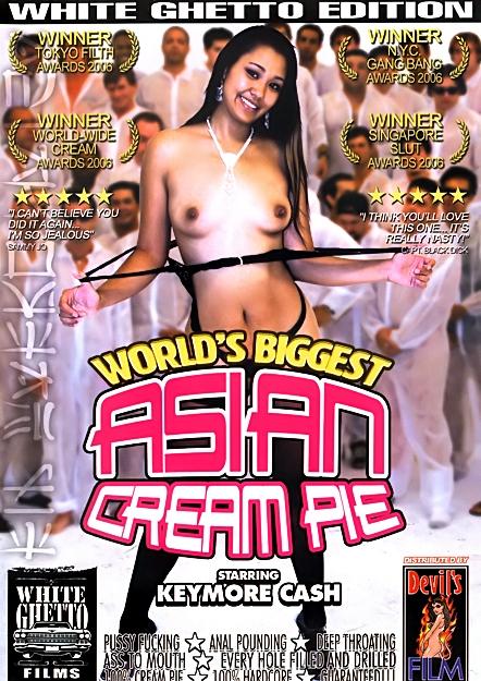 Worlds Biggest Asian Cream Pie