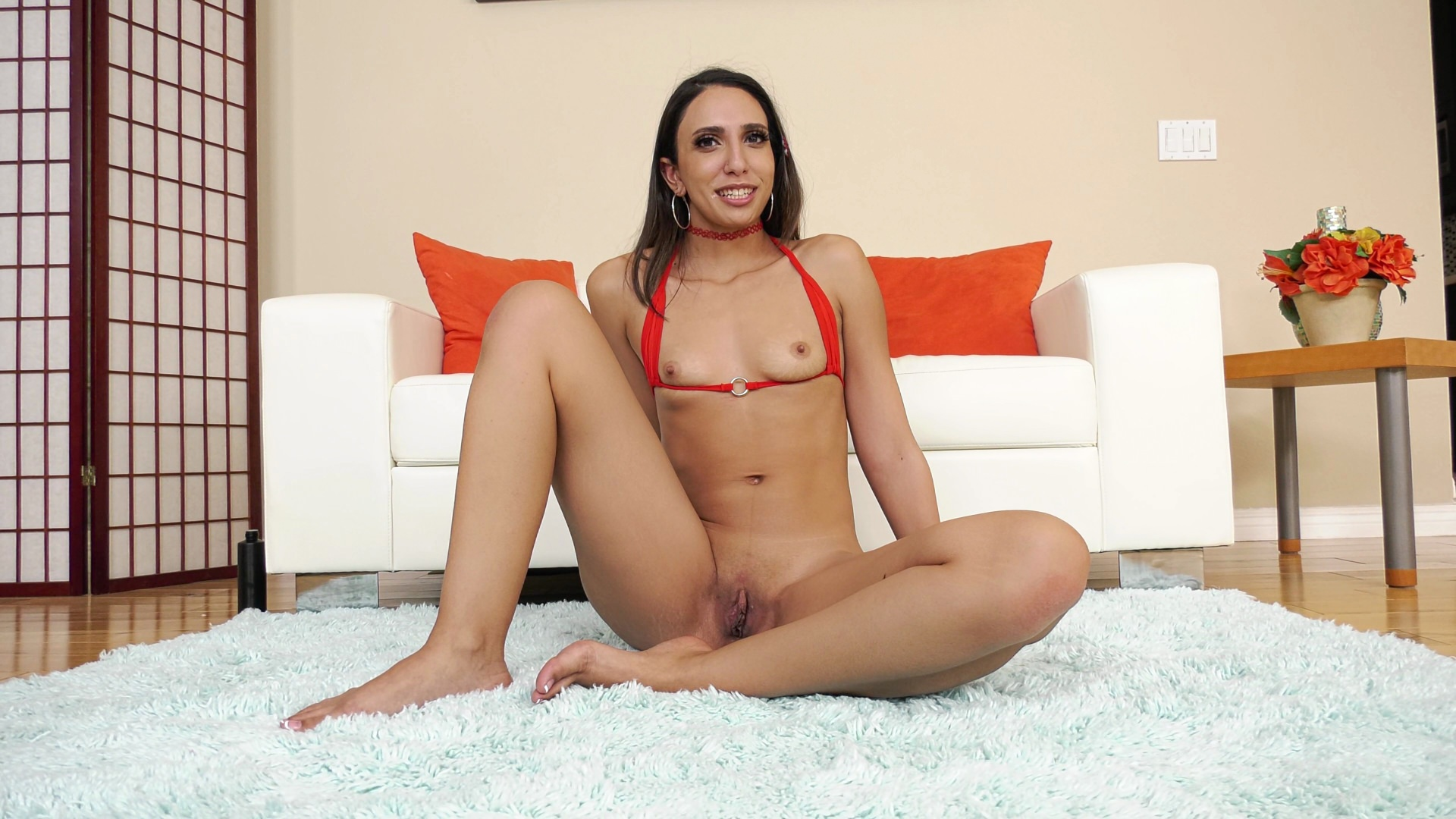BTS-Angelica Cruz: Orgasmic Anal Newbie