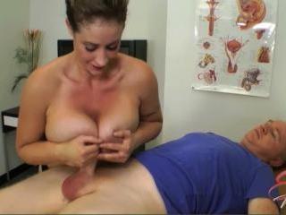 Nurse Eva Notty Tit Fucks Back To Health