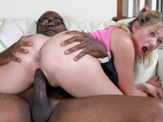 Li\'l White Chicks Crave Big Black Dicks, part 3