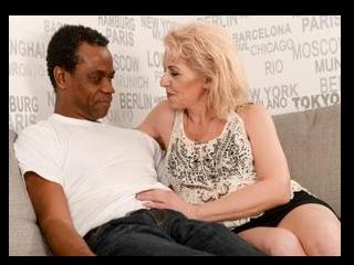Horny Granny\'s Interracial Experience