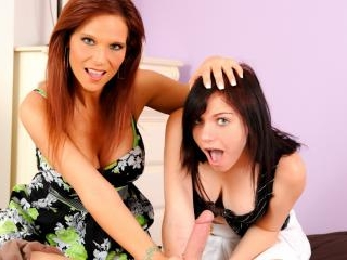 Mothers Teaching Daughters How To Suck Cock #12