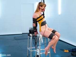 Aiden Starr Trains Pretty Redhead To Be An Electro