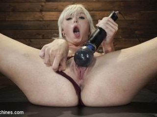 Sexy Cam Girl Lilly Bell is Bound and Machine Fuck