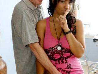 Momoko loves her step-dad\'s massive dick
