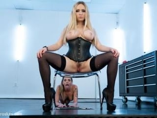Dahlia Sky, Desires Submission and Electrosex!