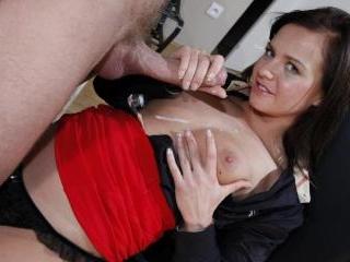 Cum on my tits