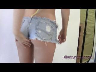 Ashlie Madison in shorts