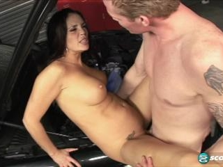 Flashback: Cheyenne gets ass-fucked by a mechanic