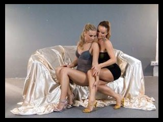 BTS-Silvia and Michelle Are Lingeries Lesbos