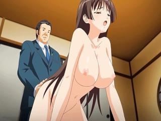Incredible romance anime movie with uncensored big