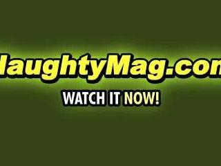 Allura James on NaughtyMag.com