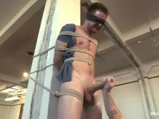 Straight stud\'s huge uncut cock edged by two guys