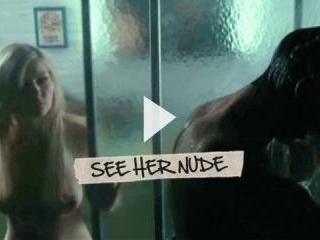 Kirsten Dunst reveals her perky tits and hard nipp