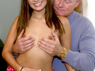 She loves an old pervert\'s big cock and experience
