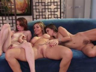 Celeste Star,  Tanya Tate and  Jessi Palmer in