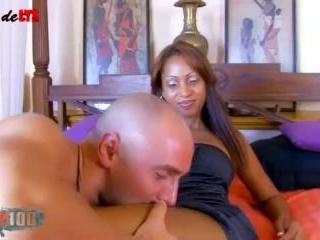 Big dick for Katia de Lys!