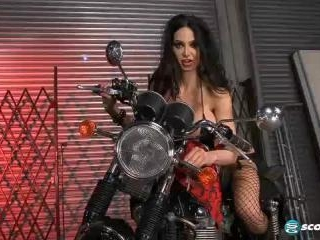 Amy Anderssen in Big Tits And Hot Wheels