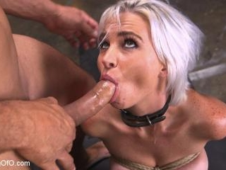 Sex Slave Astrid Star Submits to Rope Bondage and