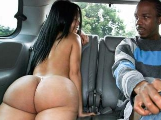The BangBus in Colombia Fucking A Big Booty Latina