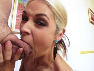 Sarah Vandella Is A Cock Sucking Powerhouse