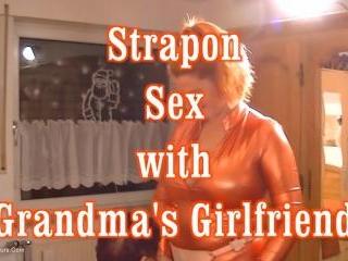 Strap On Sex With Grandmas Girlfriend Pt2