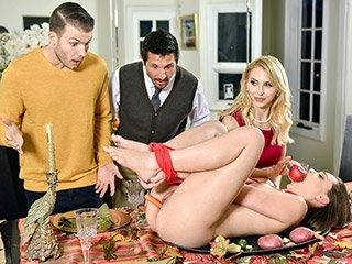 Family Friendly Thanksgiving Fuck Fest