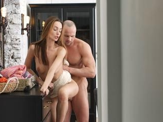 Sweet lovemaking and creampie