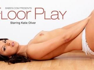Katie Oliver in Floor Play