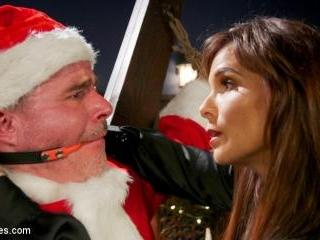 Santa Gets Got: MILF Syren de Mer Catches Dale Sav
