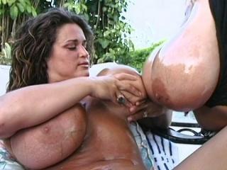 Big Boob Threesome