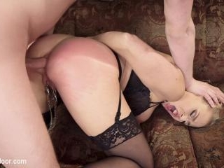 Squirting Step-Daughter Punish Fucked
