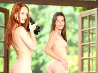 Red Head Denisa Heaven & Ennie Have a Hot Lesbian