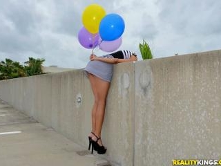 Boobs And Balloons