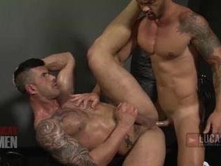 Lucas Men - 2 Adam Killian Gets a Workout on Adria