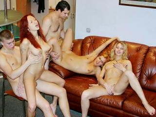 Real college girls go wild at party, part 5