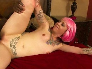 Curvy Stepdaughter Rides Black Cock